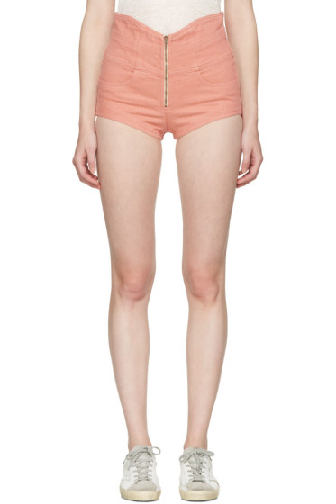 Isabel Marant - Pink Denim Everson Shorts