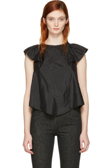 Isabel Marant - Black Anselm Blouse
