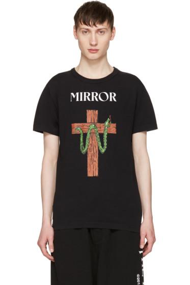 Off-White - Black Snake Mirror T-Shirt