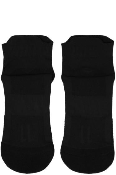 11 by Boris Bidjan Saberi - Black Logo Low Socks