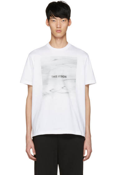 Johnlawrencesullivan - White 'This Vision' T-Shirt