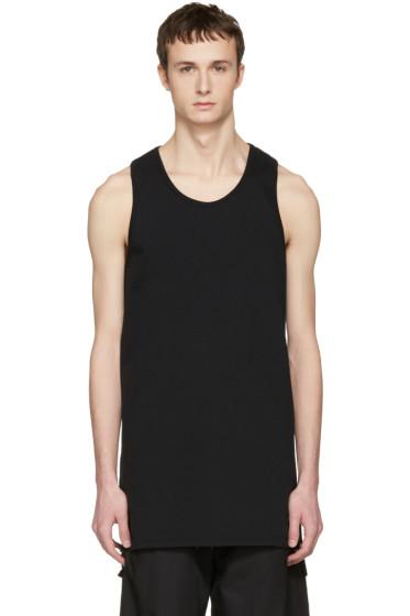 Nude:mm - Black Long Tank Top