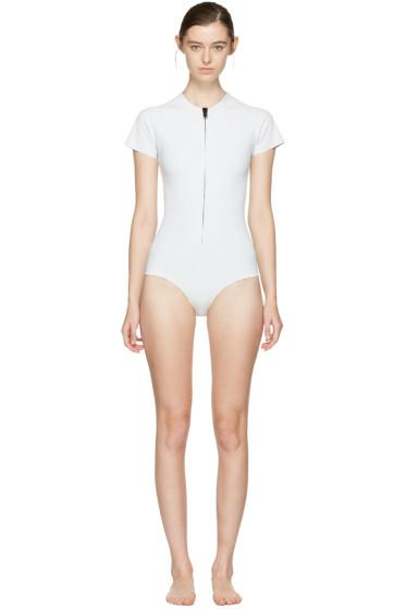 Lisa Marie Fernandez - White Farrah Swimsuit