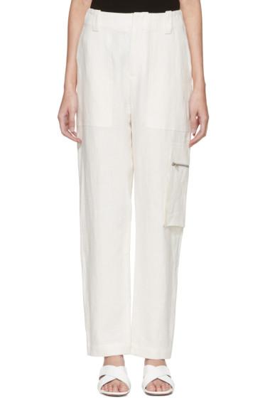 Nomia - Off-White Field Trousers