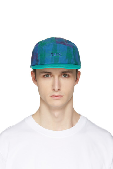 D by D - Green Check Cap