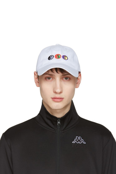 Gosha Rubchinskiy - White Yin-Yang Cap