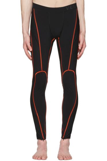 Versace Underwear - Black Running Leggings