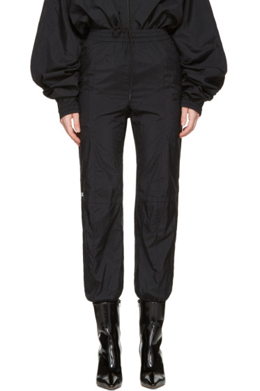 Vetements - Black Reebok Edition Biker Track Pants