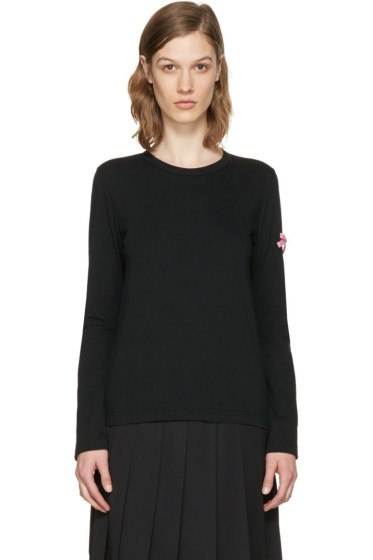 Comme des Garçons Girl - Black Bow T-Shirt