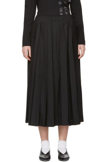 Noir Kei Ninomiya - Black Pleated Culottes