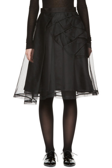 Noir Kei Ninomiya - Black Tulle Skirt