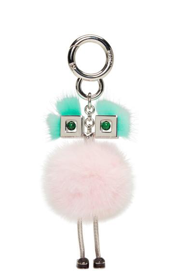 Fendi - Pink Fur Chick Keychain