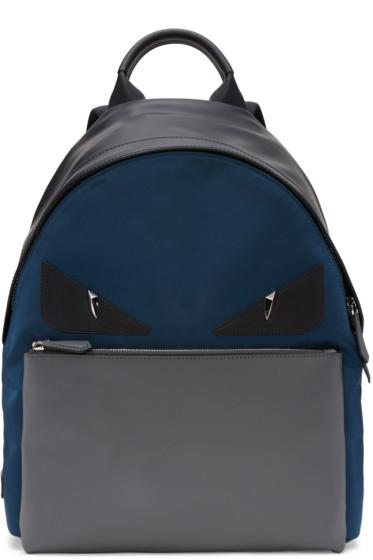 Fendi - Multicolor 'Bag Bugs' Backpack