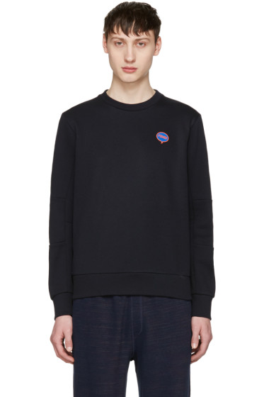 Fendi - Navy 'Fendi Bubble' Pullover