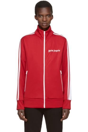 Palm Angels - Red Logo Track Jacket