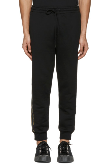 Palm Angels - Black Trimmed Lounge Pants
