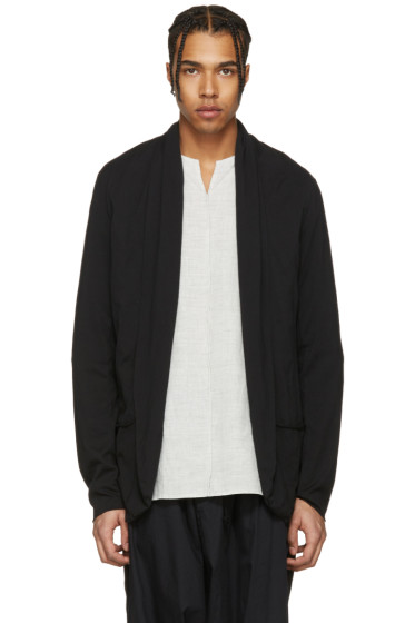 Attachment - Black Kimono Cardigan