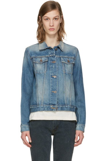 Simon Miller - Indigo Denim Keyes Jacket