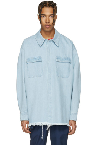 Marques Almeida - Blue Denim Overshirt