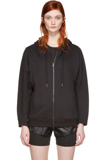 adidas by Stella McCartney - Black ESS Zip-Up Hoodie