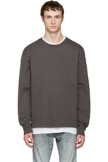 John Elliott - Grey Oversized Pullover