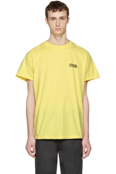 Noon Goons - Yellow 'Mad Society' T-Shirt