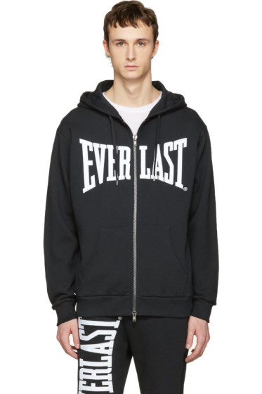 Ports 1961 - Black Everlast Edition Zip-Up Hoodie