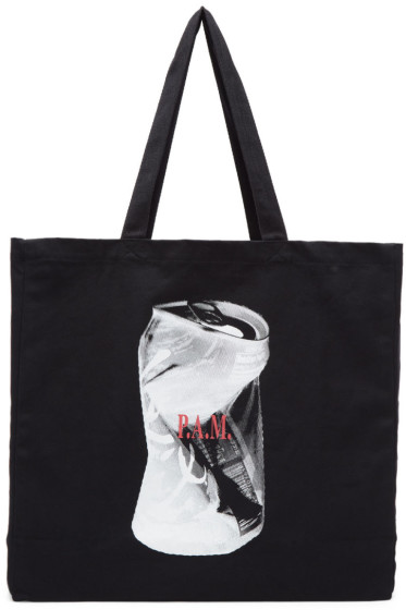 Perks and Mini - Black 'Support Your Local Witch' Tote