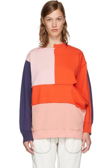 Perks and Mini - SSENSE Exclusive Multicolor Complex Split Sweatshirt