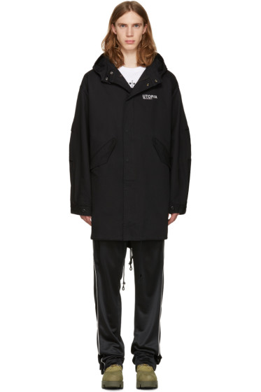 Perks and Mini - Black Psyche Movement Coat