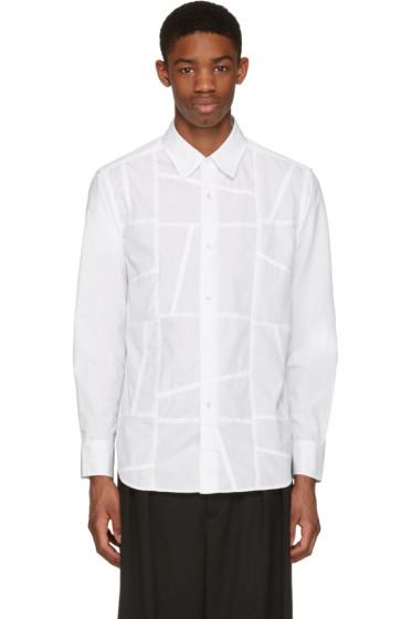 Ganryu - ホワイト パッチ シャツ