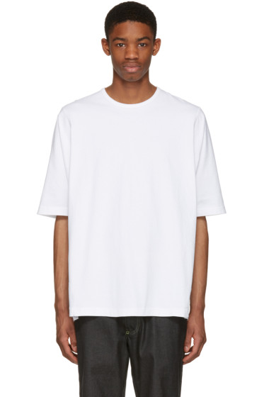 Ganryu - ホワイト オーバーサイズ T シャツ