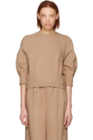 Cyclas - Beige Carrot Sleeve Pullover