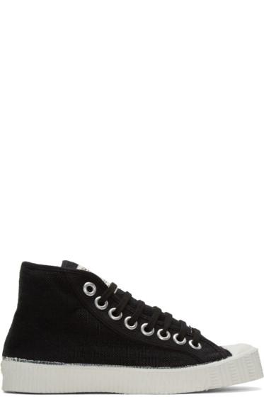 Spalwart - Black Special High-Top Sneakers