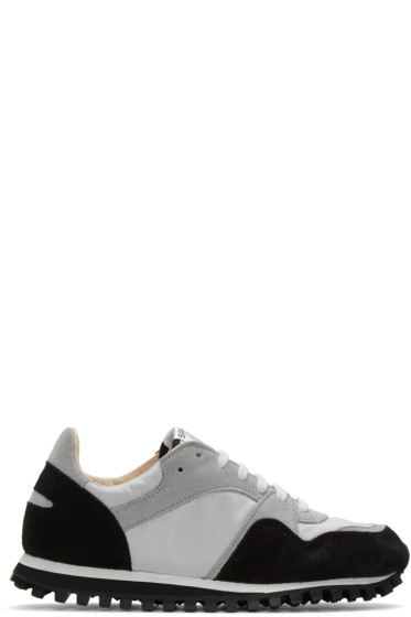 Spalwart - Black & Grey Marathon Trail Sneakers