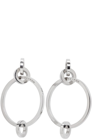 Ribeyron - Silver 4 Circle Earrings