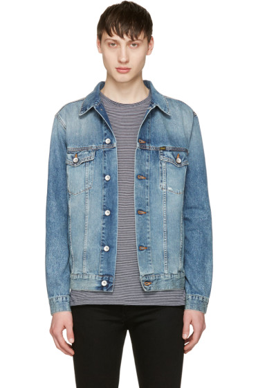 Tiger of Sweden Jeans - Blue Denim Primal Jacket