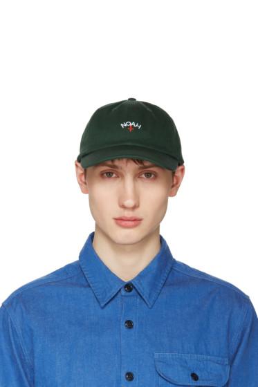 Noah NYC - Green Logo Cap