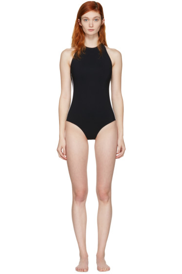 Ward Whillas - Black Palmer Swimsuit