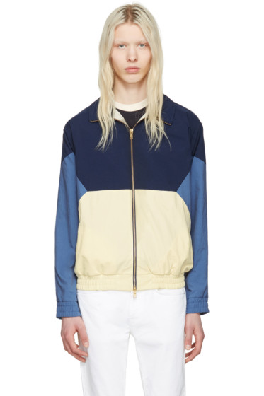 Aime Leon Dore - Navy Zip Windbreaker Jacket