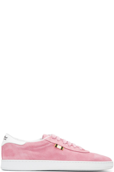 Aprix - Pink Suede APR-002 Sneakers