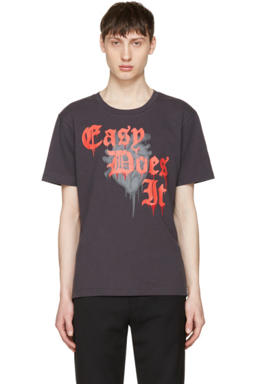 Coach 1941 - Black 'Easy Does It' T-Shirt
