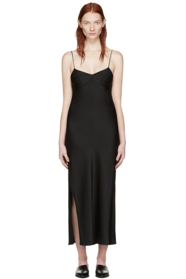 Khaite - Black Helen Slip Dress