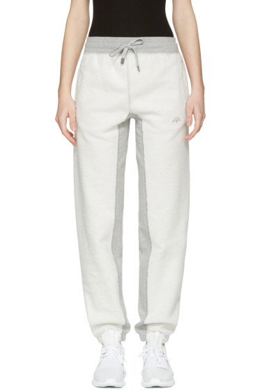 adidas Originals by Alexander Wang - Grey Inout Jogger Lounge Pants