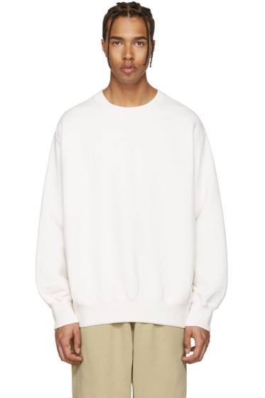 YEEZY - Off-White Boxy Crewneck Sweatshirt