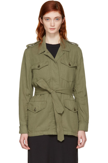Rag & Bone - Green Bennett Military Jacket