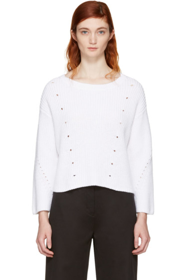 Rag & Bone - White Lara Sweater
