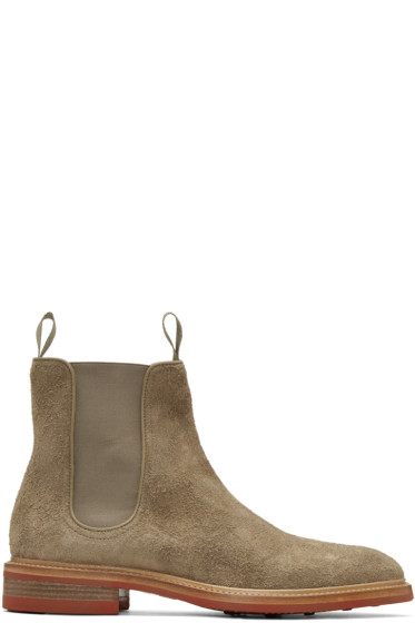 Rag & Bone - Taupe Spencer Chelsea Boots
