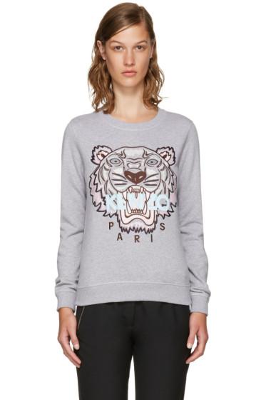 Kenzo - Grey Limited Edition Tiger Sweatshirt