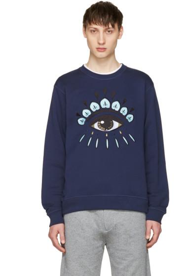 Kenzo - Navy Eye Sweatshirt